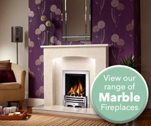 View our range of marble fireplaces