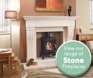 View our range of stone fireplaces